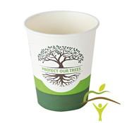 Ecologische wegwerp koffietassen