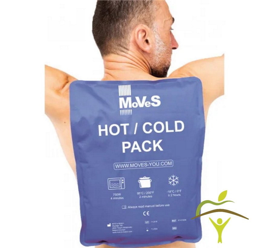 Warmte/koude pakking met kleivulling Soft Touch