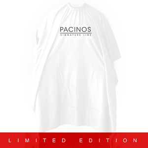 Pacinos Barber Cape - White