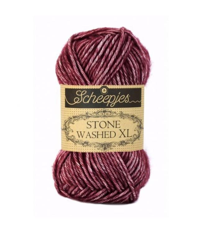 Scheepjes Stone Washed XL - 850 - Garnet
