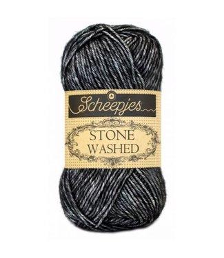Scheepjes Stone Washed - 803 - Black Onyx