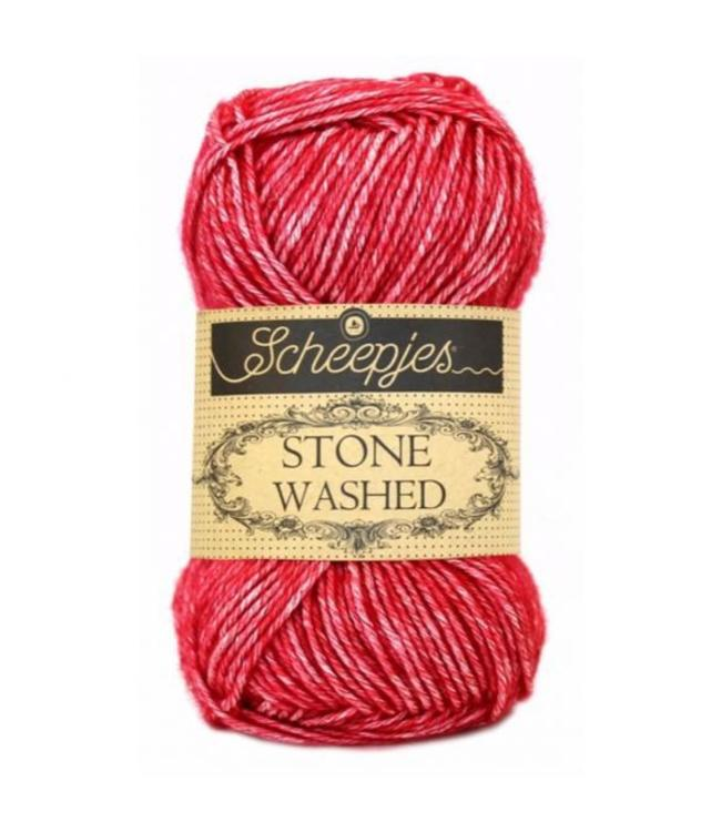 Scheepjes Stone Washed - 807 - Red Jasper