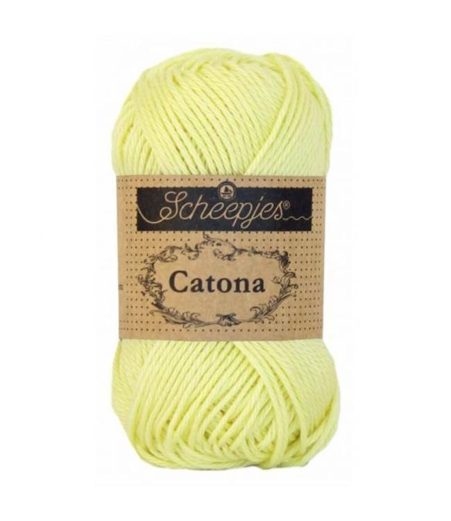 Scheepjes Catona 50g - 100 - Lemon Chiffon