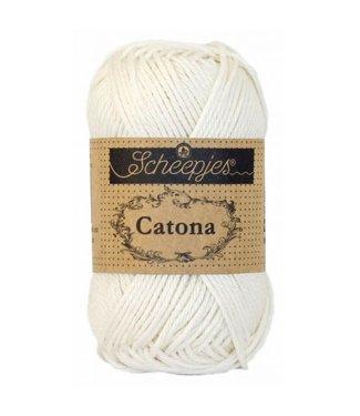 Scheepjes Catona 50g - 105 - Bridal White