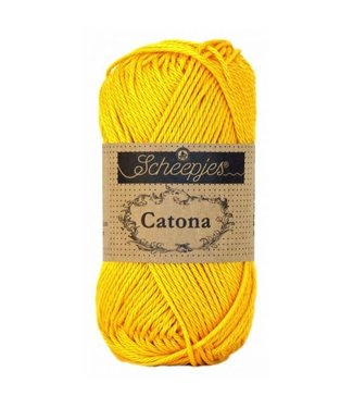 Scheepjes Catona 50g - 208 - Yellow Gold