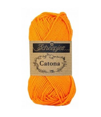 Scheepjes Catona 50g - 281 - Tangerine