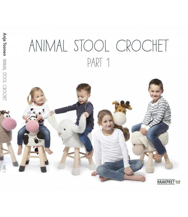 Haakpret Animal Stool crochet  part 1