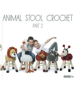Haakpret Animal Stool crochet part 2 - Anja Toonen