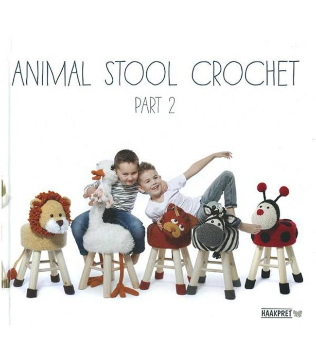 Haakpret Animal Stool crochet part 2
