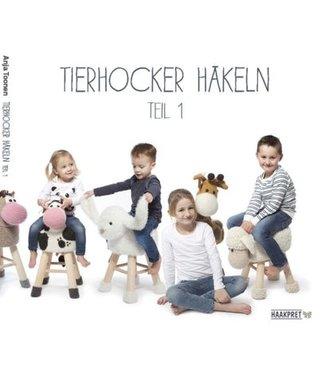 Haakpret Tierhocker häkeln teil 1 - Anja Toonen