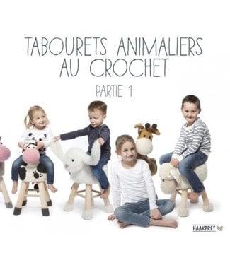 Haakpret Tabourets animaliers au crochet, partie 1
