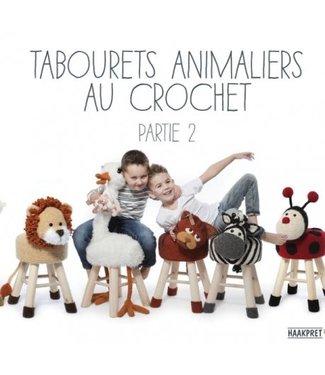 Haakpret Tabourets animaliers au crochet, partie 2 - Anja Toonen