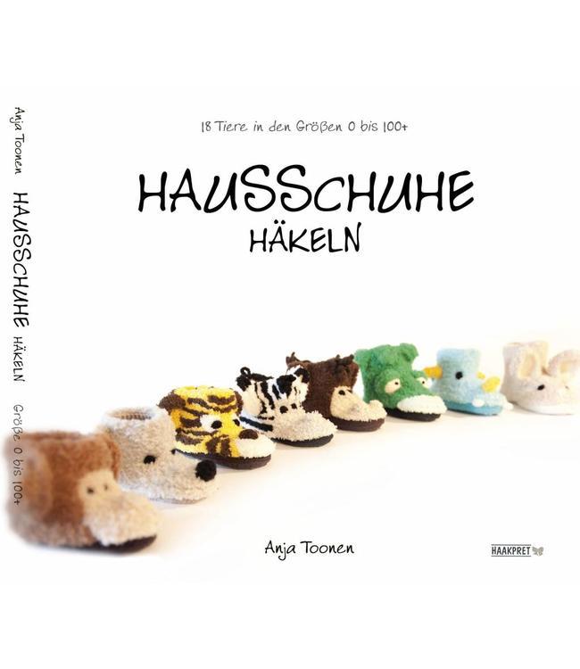 German Book Hausschuhe Häkeln Anja Toonen Haakpret