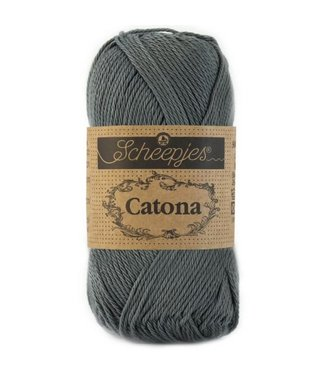 Scheepjes Catona 25g - 501 - Anthracite