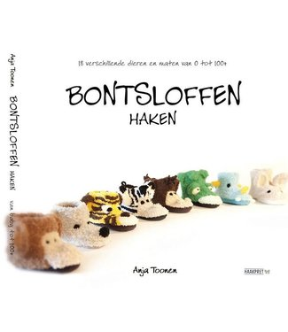 Haakpret Bontsloffen haken - Anja Toonen