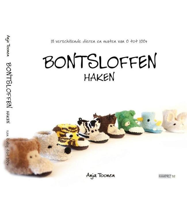 Niederländisches Buch Bontsloffen Haken Anja Toonen Haakpret