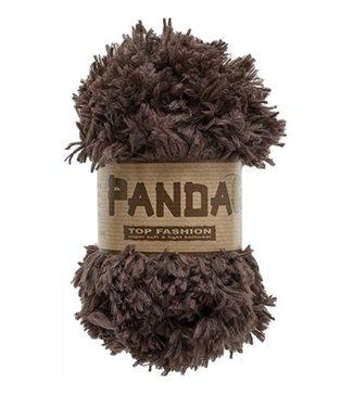 Lammy Yarns Panda 110 - donker bruin