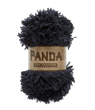 Lammy Yarns Panda 001 - zwart