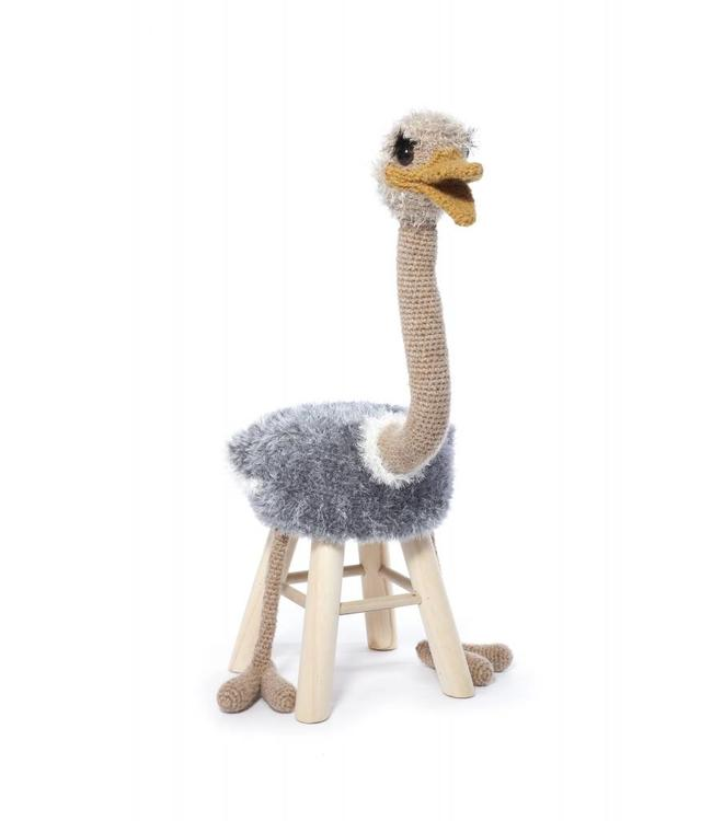 Haakpret Pakket Struisvogel