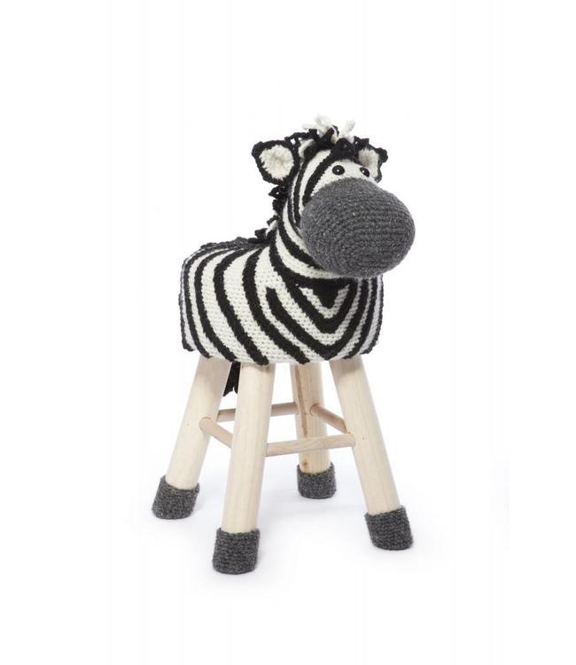 Haakpret Paket Zebra
