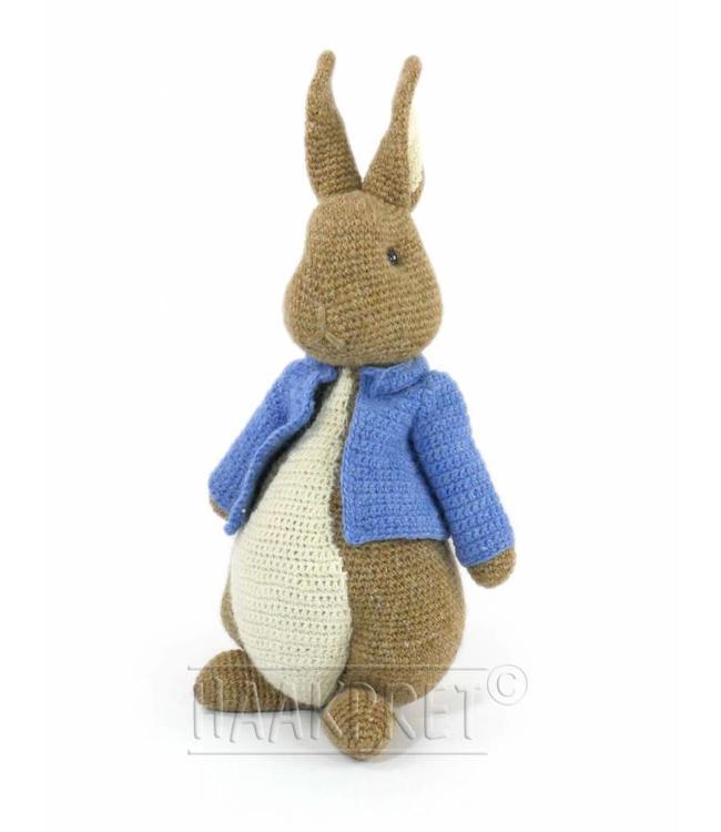 Haakpret Easter Bunny 49 cm - Lettlopi