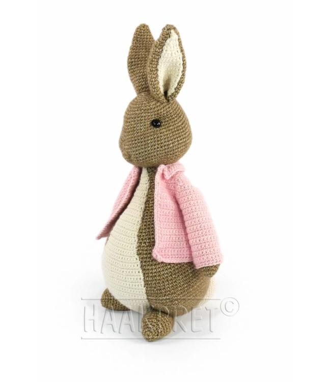 Haakpret Easter Bunny  52 cm - Stone Washed XL