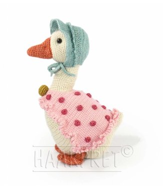 Haakpret Mutter Gans 52 cm - Stone Washed XL