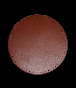 Go Handmade Mand / tassen bodem 25 cm - Bruin
