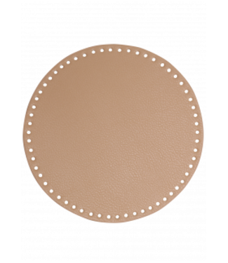 Go Handmade Handbag / basket base 25 cm - Abricot