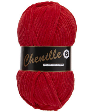Lammy Yarns Chenille 6 - 043 - rood