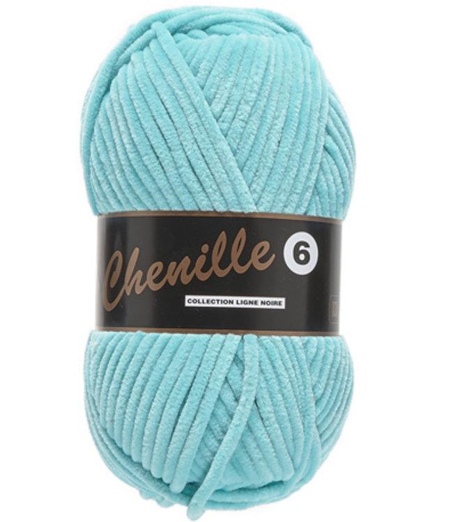 Lammy Yarns Chenille 6 - 047 - turquoise