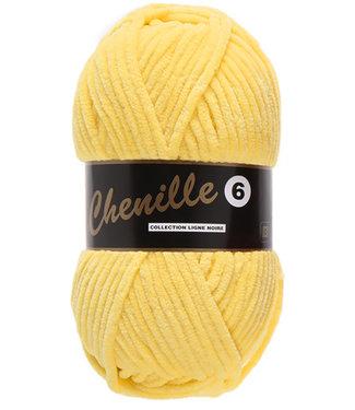 Lammy Yarns Chenille 6 - 510 - geel