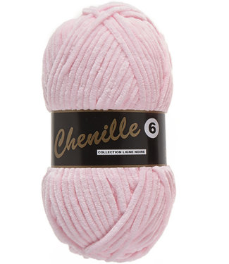 Lammy Yarns Chenille 6 - 710 - baby roze