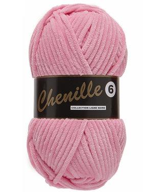Lammy Yarns Chenille 6 - 714 - roze