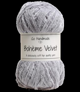 Go Handmade Bohème Velvet Fine - Grey