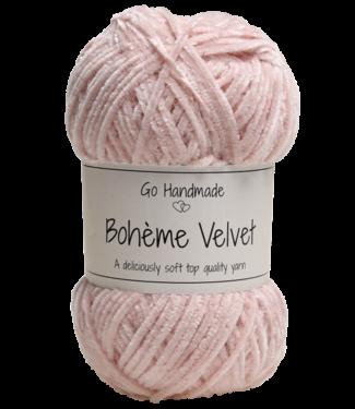 Go Handmade Bohème Velvet Fine - Cameo Rose