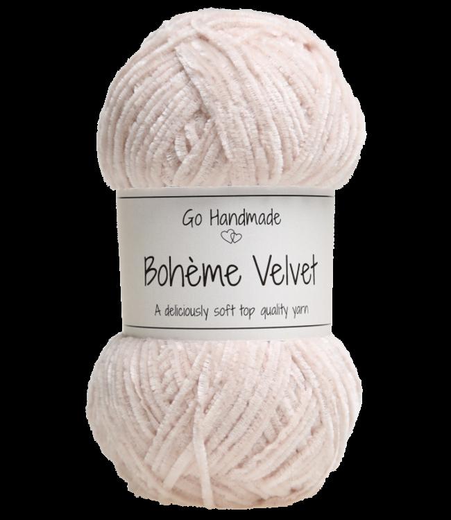 Go Handmade Bohème Velvet Fine - Sand
