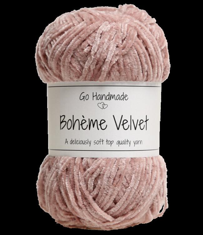Go Handmade Bohème Velvet Fine - Soft Rose