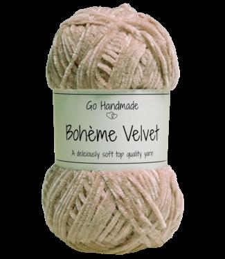 Go Handmade Bohème Velvet Fine - Nude