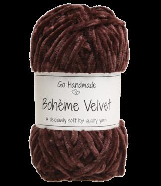 Go Handmade Bohème Velvet Double - Plum