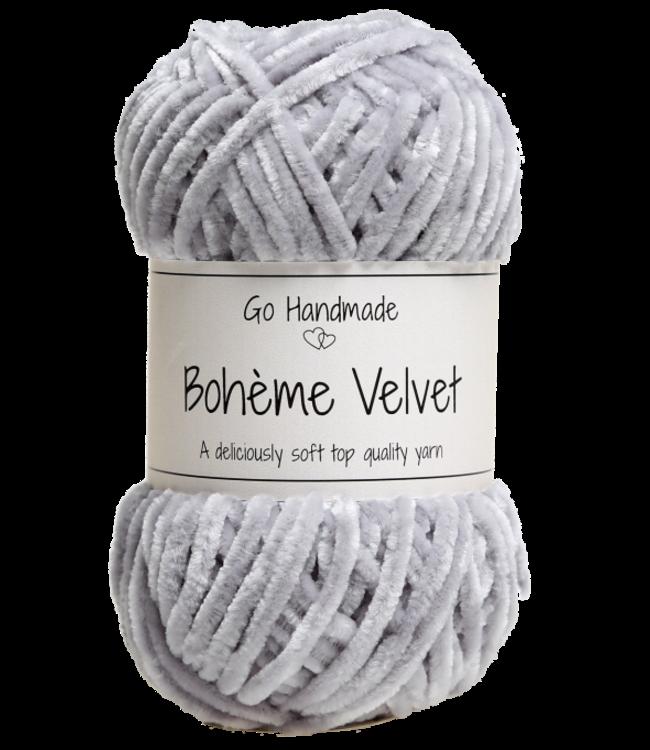 Go Handmade Bohème Velvet Double - Grey
