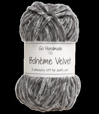 Go Handmade Bohème Velvet Double - Dark Grey