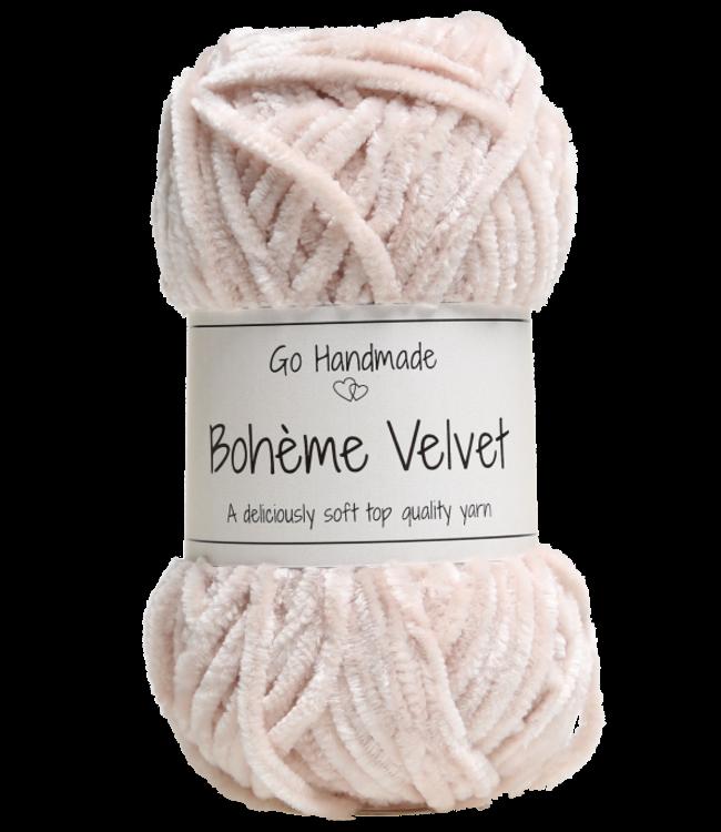 Go Handmade Bohème Velvet Double - Sand
