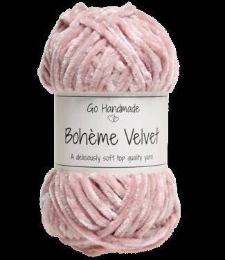 Go Handmade Bohème Velvet Double - Soft Rose