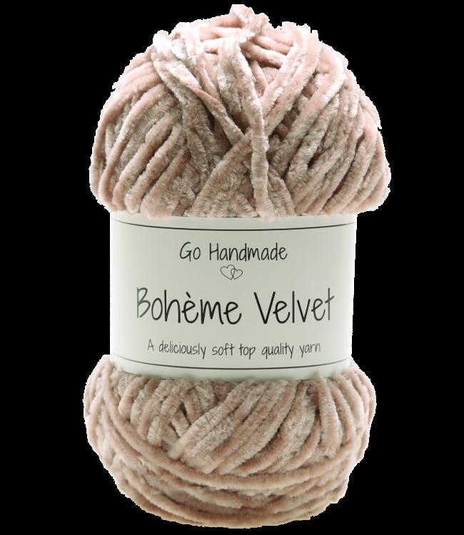 Go Handmade Bohème Velvet Double - Nude