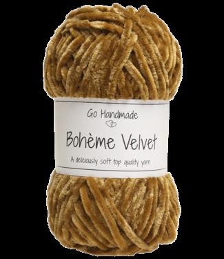 Go Handmade Bohème Velvet Double - Vintage Curry