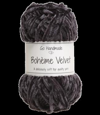 Go Handmade Bohème Velvet Double - Black