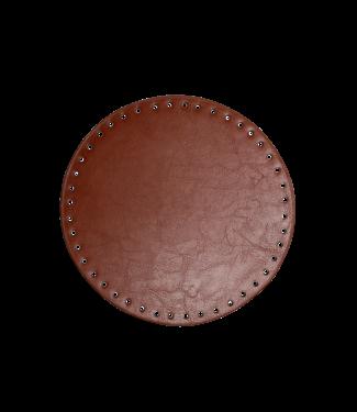 Go Handmade Mand / tassen bodem 20 cm - Brown