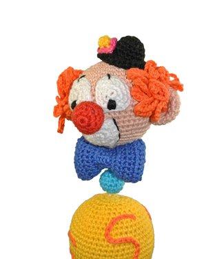 Haakpret Clown Mobiel A5