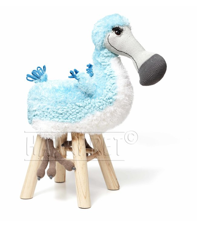 Haakpret Paquet Dodo - Turquoise